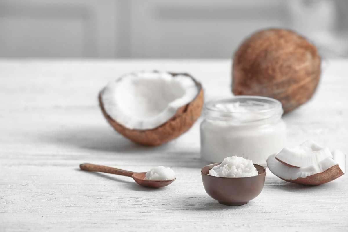 homemade skincare - coconut oil